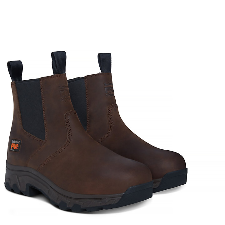 Pro Workstead Chelsea Boot Homme marron-