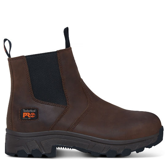 Men's Pro Workstead Chelsea Boot Brown | Timberland