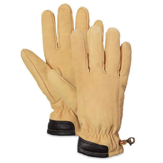 Men's Seabrook Beach Suede Gloves Yellow | Timberland