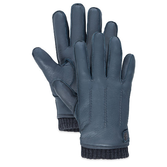 Leather Gloves gris marengo hombre | Timberland