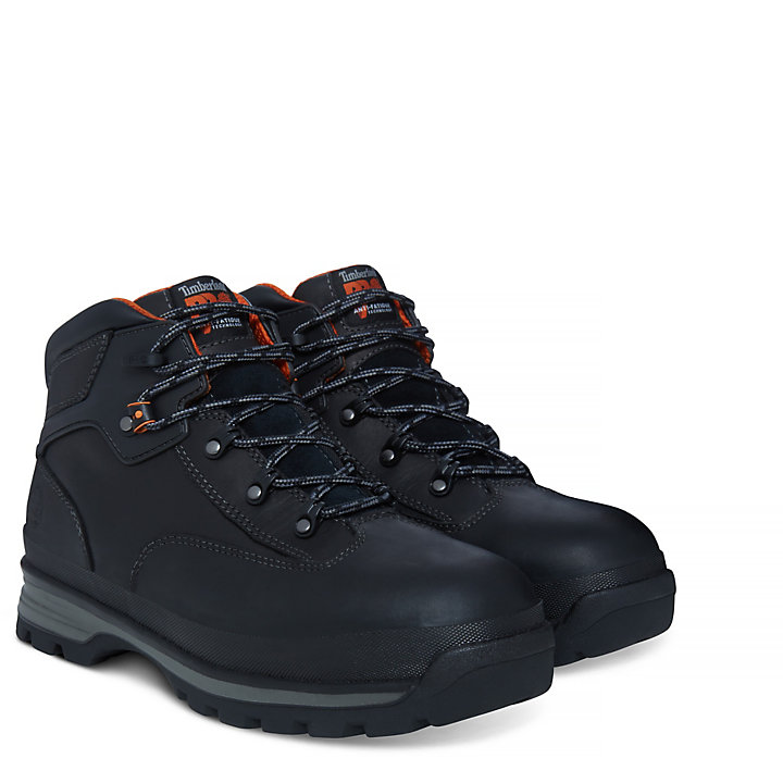 Pro Euro Hiker Worker Boot Homme noir-