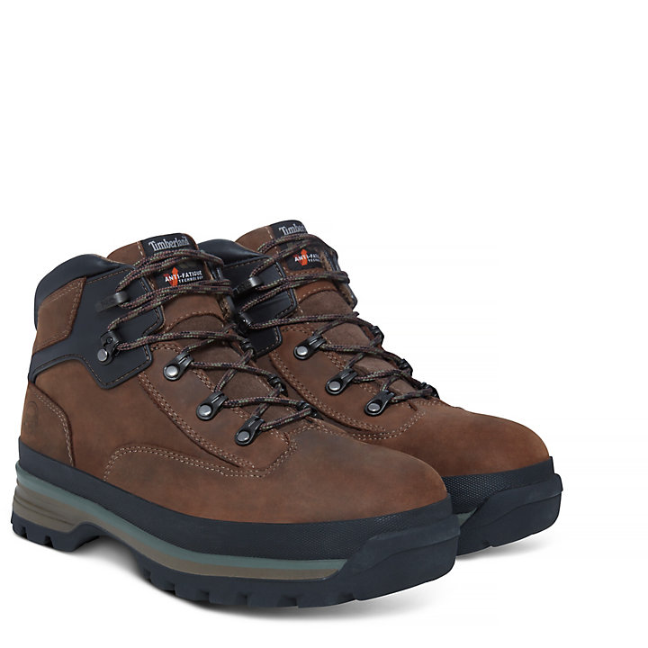 Pro Euro Hiker Worker Boot marón hombre-