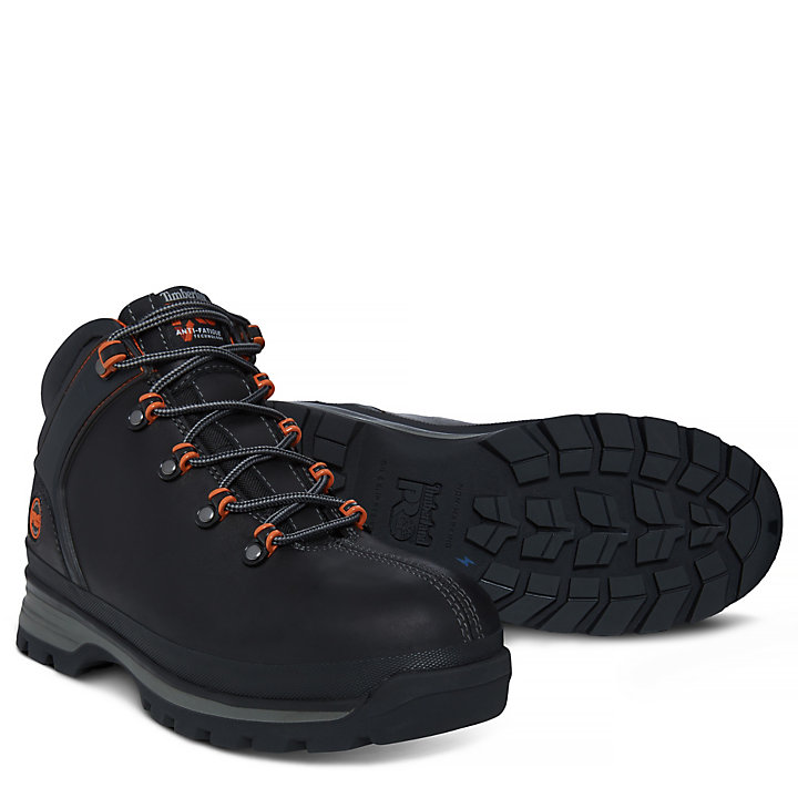 Men's Pro Splitrock Worker Shoe Black-