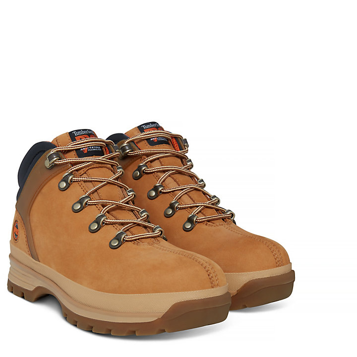 Pro Splitrock Worker Shoe Geel Heren-