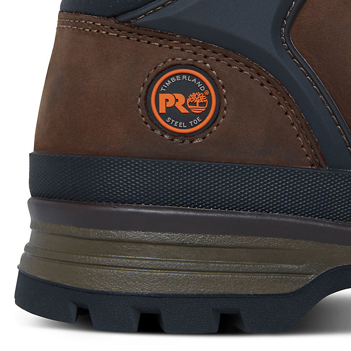 Pro Splitrock Worker Shoe Homme marron-