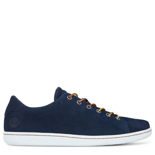 Men's Courtside Leather Oxford Navy | Timberland