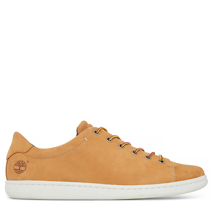 Courtside Leather Oxford Heren Geel-