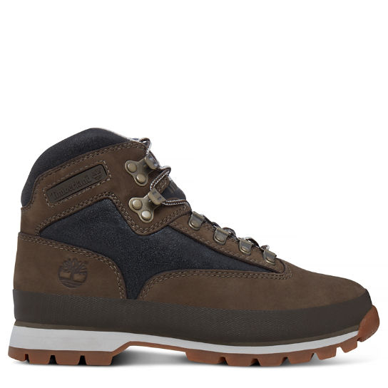 Euro Hiker Leather Boot marrón mujer | Timberland
