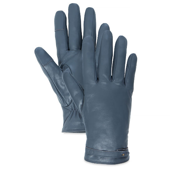 Women's Leather Gloves Charcoal | Timberland