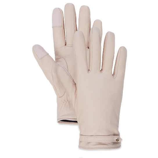 Damen Leather Gloves Pastellrosa | Timberland