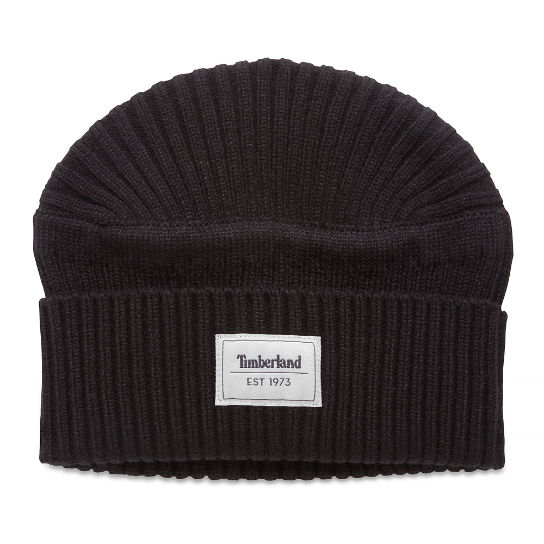 Men's Gulf Beach Ribbed Beanie Black | Timberland