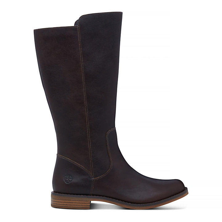 Magby Tall Boot for Women in Dark Brown-