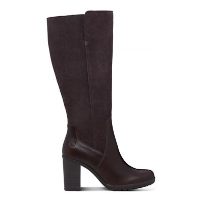 Linwood+Tall+Boot+for+Women+in+Dark+Brown