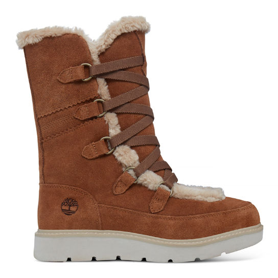 Kenniston Tall Muk Boot marrón mujer | Timberland