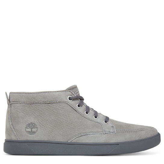 Bayham Leather Chukka Homme gris fer | Timberland