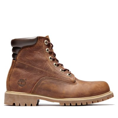 Alburn+6+inch+Boot+for+Men+in+Brown