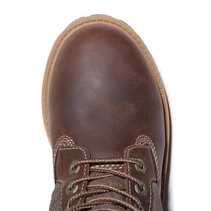 6-Inch Boot Premium matelassée pour enfant marron-