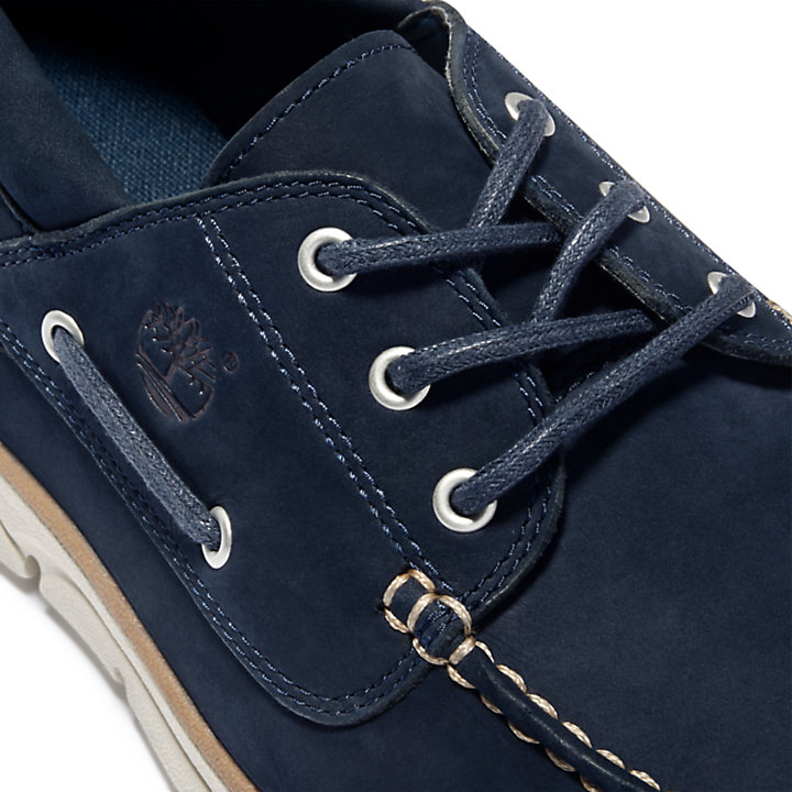 Bradstreet Boat Shoe for Men in Navy-
