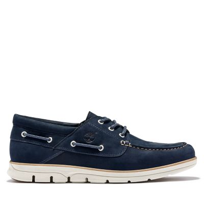 Bradstreet+Boat+Shoe+for+Men+in+Navy