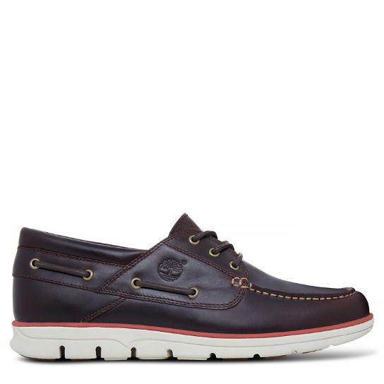 Men's Bradstreet Boat Shoe Brown | Timberland