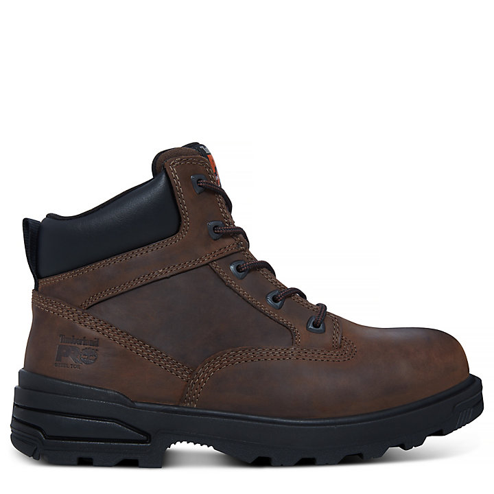 Pro 6-inch Mortar Worker Boot Homme marron-