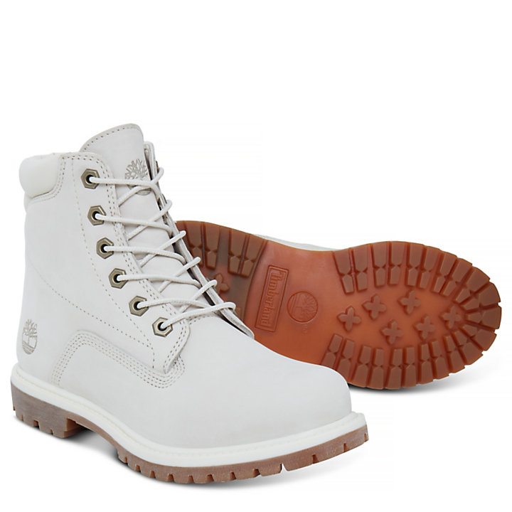 6-Inch Boot Waterville pour femme en Blanches-