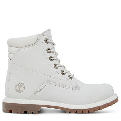 Waterville+6-Inch+Boot+voor+Dames+in+wit