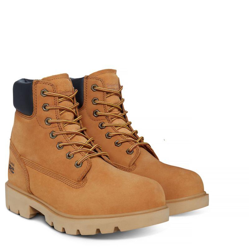 Timberland - pro 6-inch sawhorse worker boot gelb - 2
