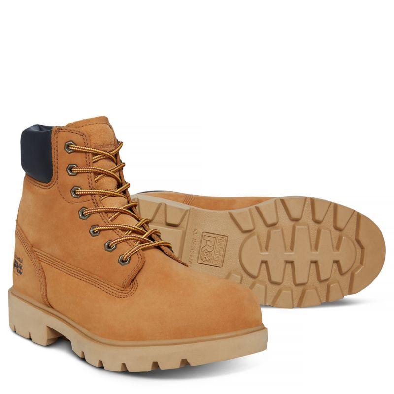 Timberland - pro 6-inch sawhorse worker boot gelb - 3