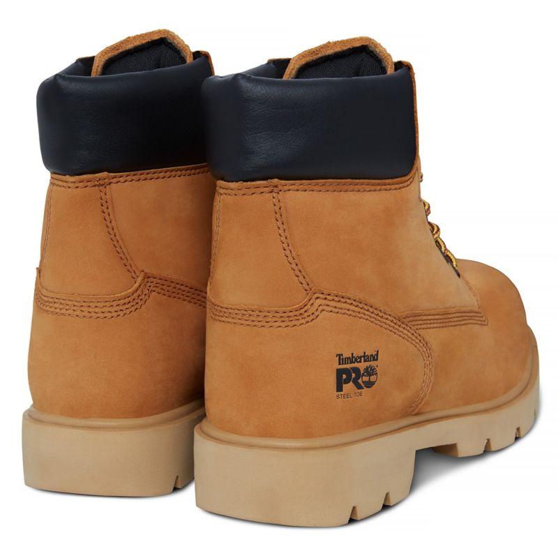 Timberland - pro 6-inch sawhorse worker boot gelb - 4