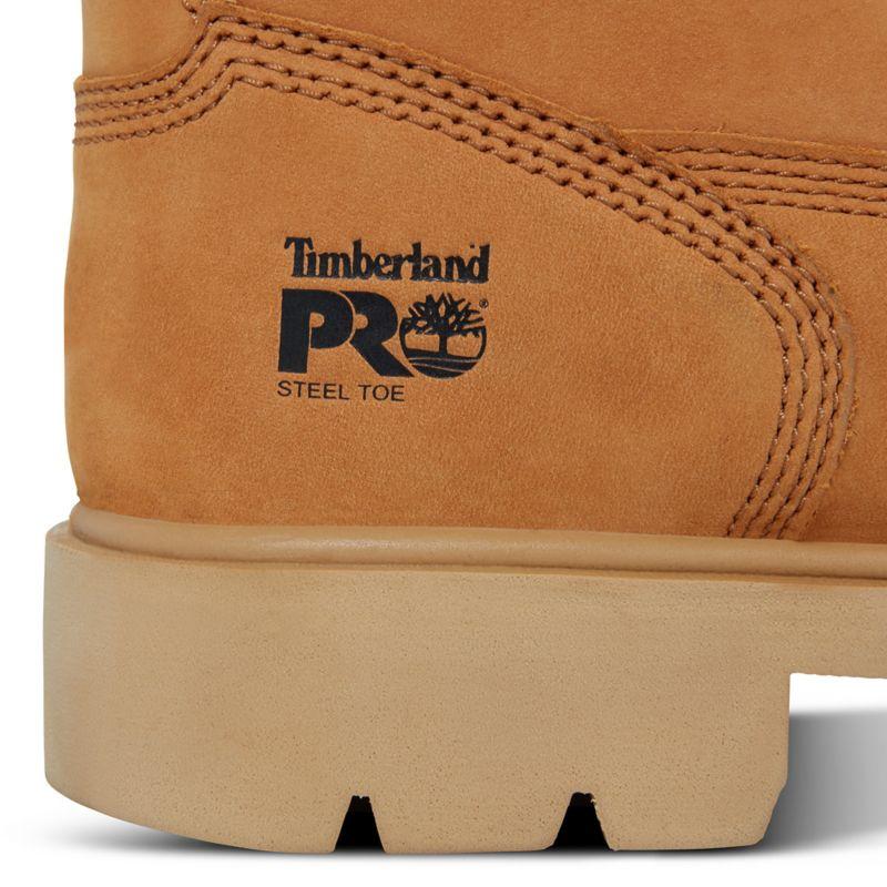 Timberland - pro 6-inch sawhorse worker boot gelb - 8