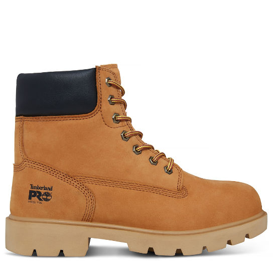 Pro 6-Inch Sawhorse Worker Boot Homem Amarelo | Timberland