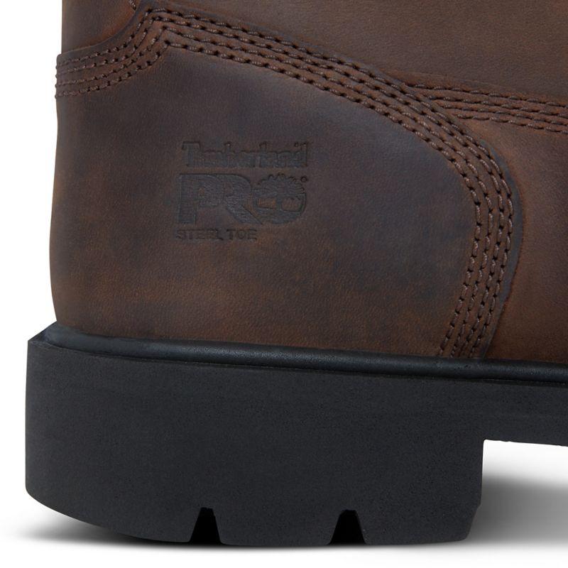 Timberland - pro 6-inch sawhorse worker boot - 8
