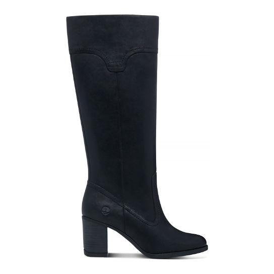 Atlantic Heights Tall Boot mulher preto | Timberland