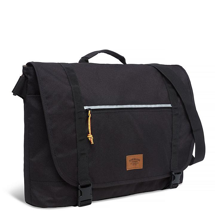 Crofton Messenger Bag Nero-