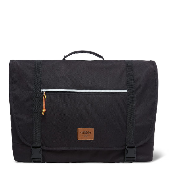 Crofton Messenger Bag Black | Timberland