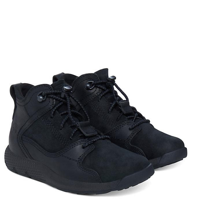 Flyroam™ High Top Sneaker for Youths in Black-