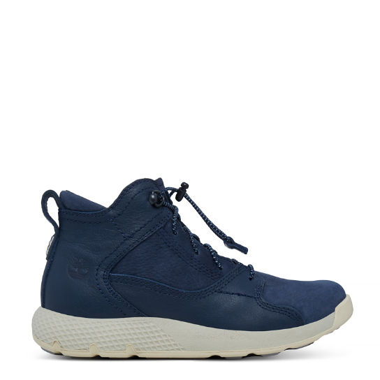 Flyroam™ High Top Sneaker for Youths in Navy | Timberland