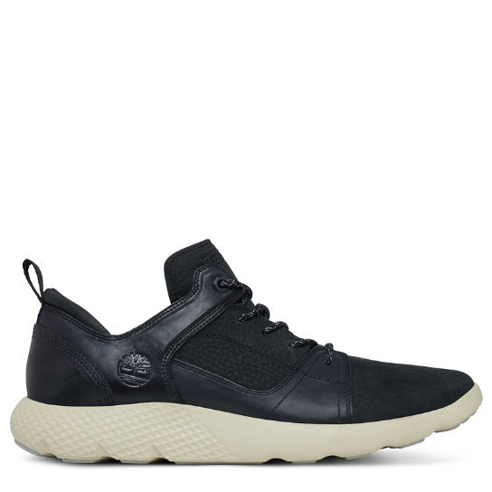Flyroam Leather Trainer Nero Uomo | Timberland