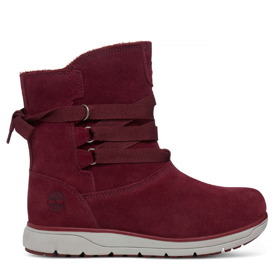Women's Leighland Pull On Boot Rich Red | Timberland