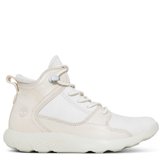 Women's Flyroam Leather Sneakerboot Pale Pink | Timberland
