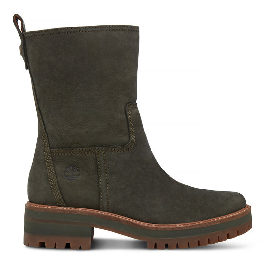Women's Courmayeur Valley Pull-On Boot Olive | Timberland