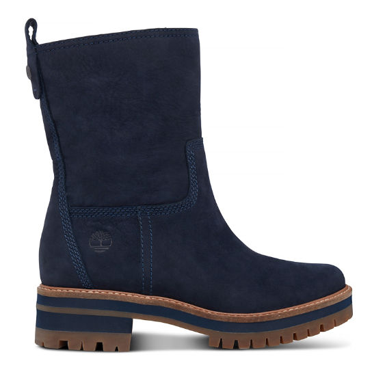 Women's Courmayeur Valley Pull-On Boot Navy | Timberland