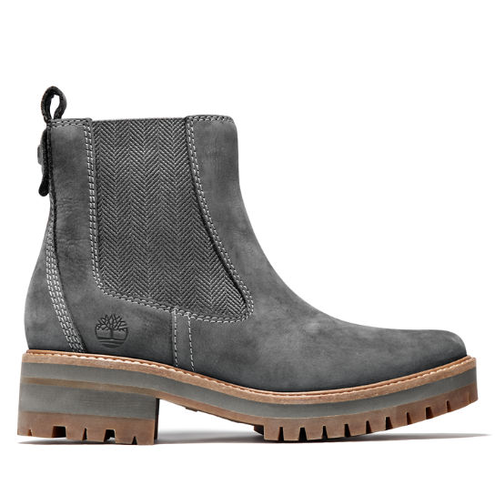 Women's Courmayeur Valley Chelsea Dark Grey | Timberland