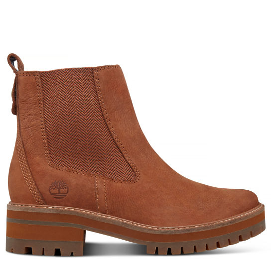 Bottine Chelsea Courmayeur Valley pour femme en marron | Timberland