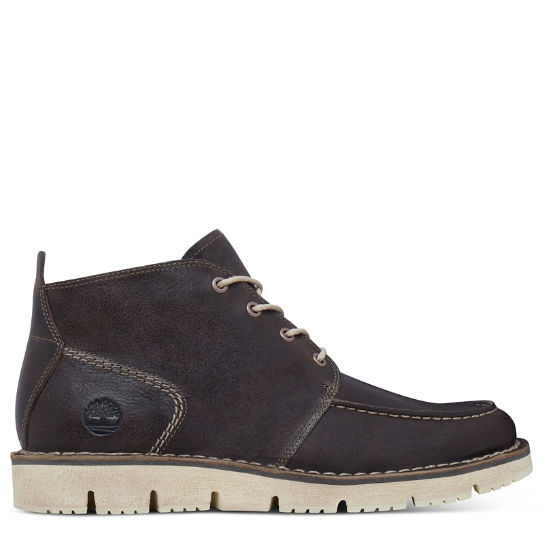 Westmore Moc Toe Chukka gris hombre | Timberland