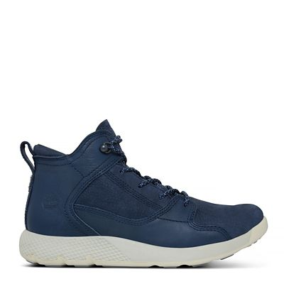 Flyroam%E2%84%A2+High+Top+Sneaker+for+Juniors+in+Navy