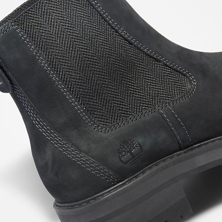 Stivaletto Chelsea da Donna Courmayeur Valley in colore nero-