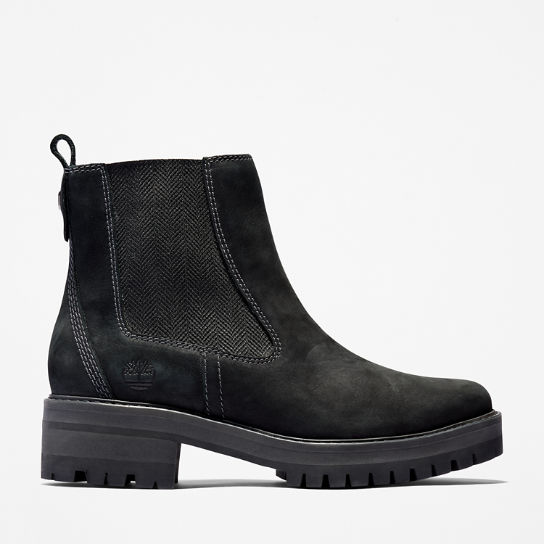 Stivaletto Chelsea da Donna Courmayeur Valley in colore nero | Timberland