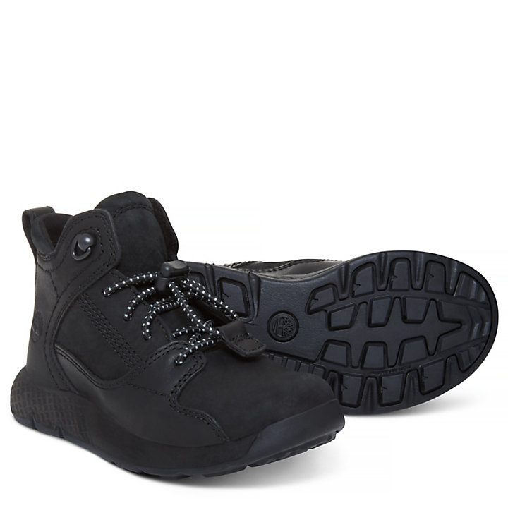 Flyroam™ High Top Sneaker for Toddlers in Black-
